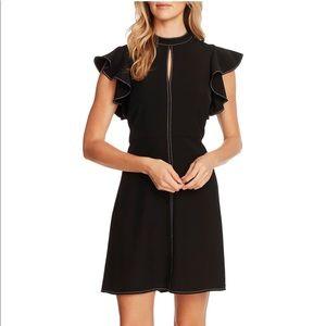 CeCe Flutter Sleeve Dress